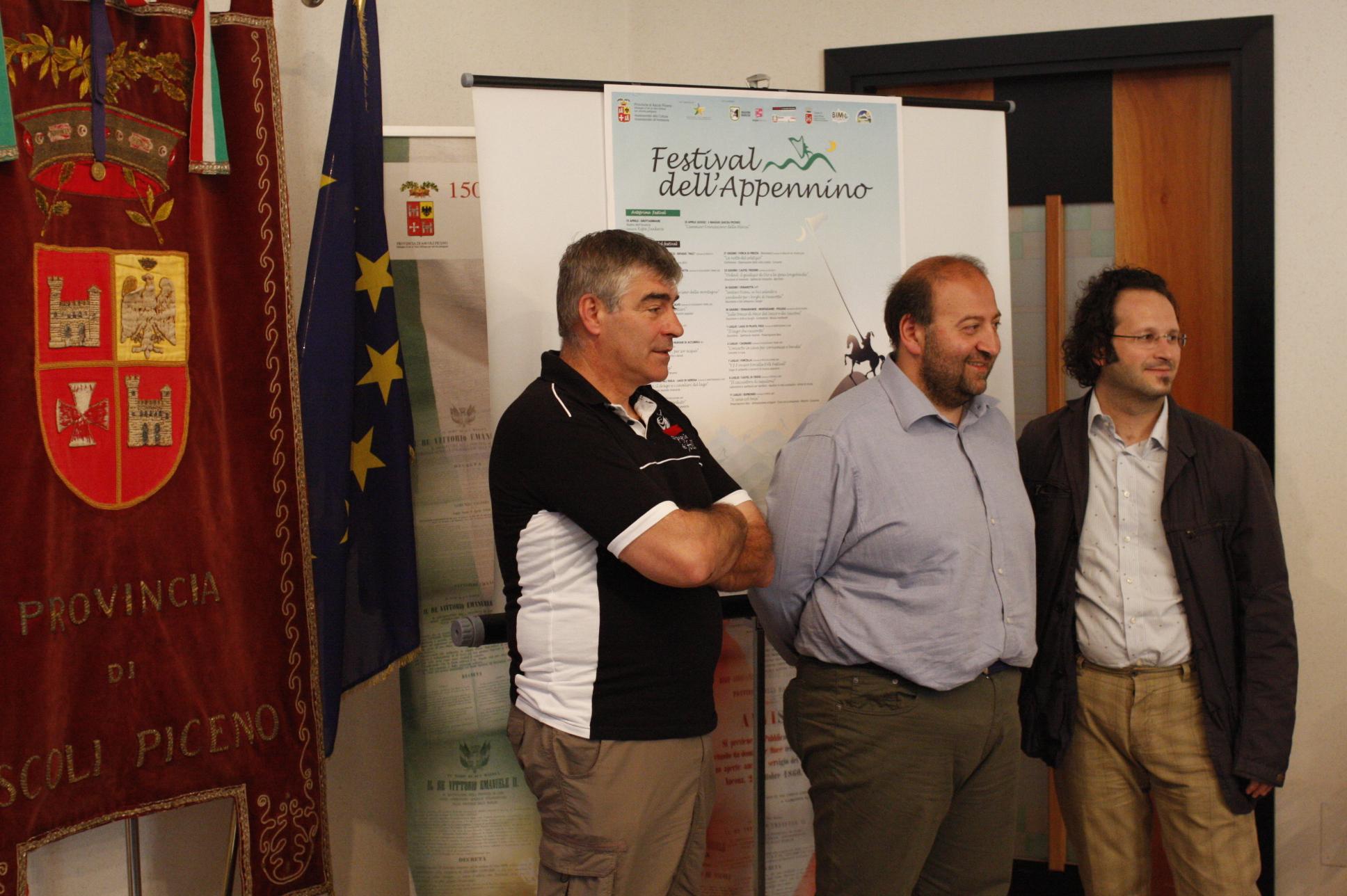 Pres. tappe Festival Appennino Altino e Forca