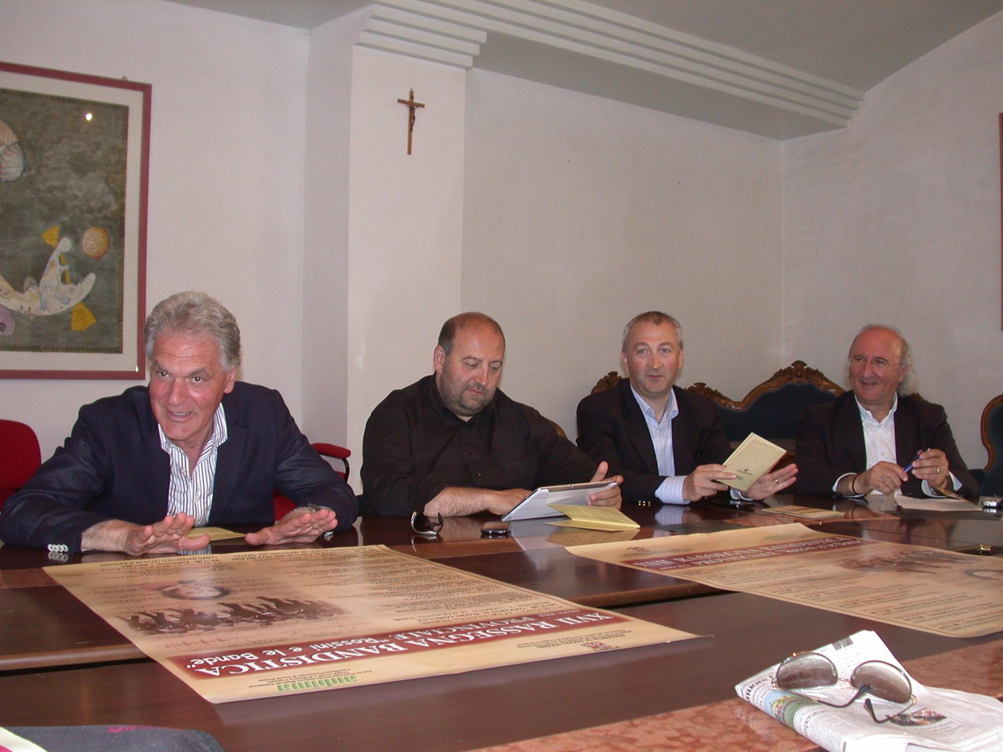 Pres. XVII Rassegna Bandistica Provinciale 2012