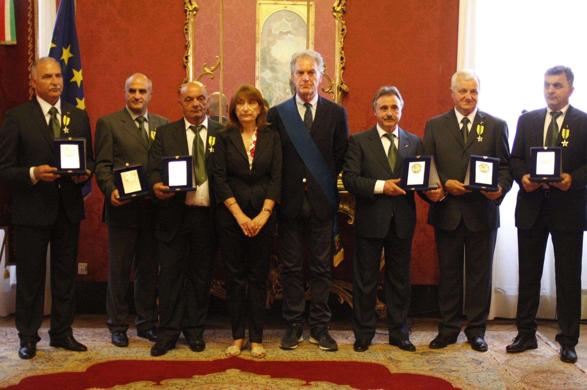 Cerimonia Maestri del lavoro 2012