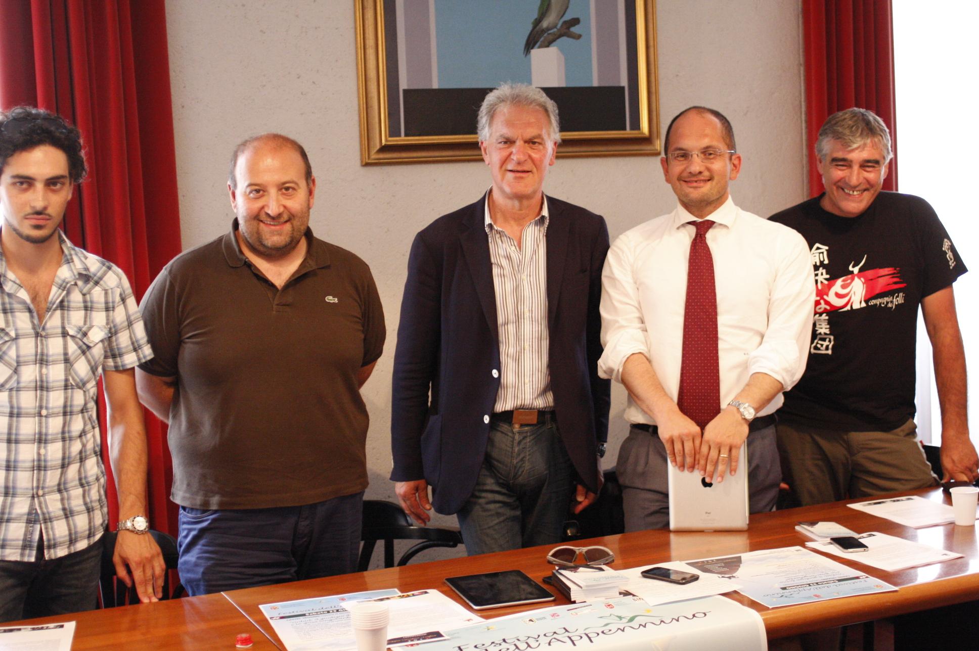 Festival Appennino - Pres. tappa Castel Trosino