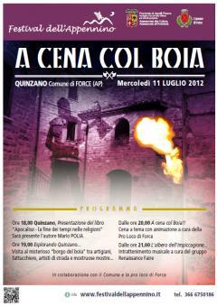 Pres. Tappa Festival Appennino Quinzano