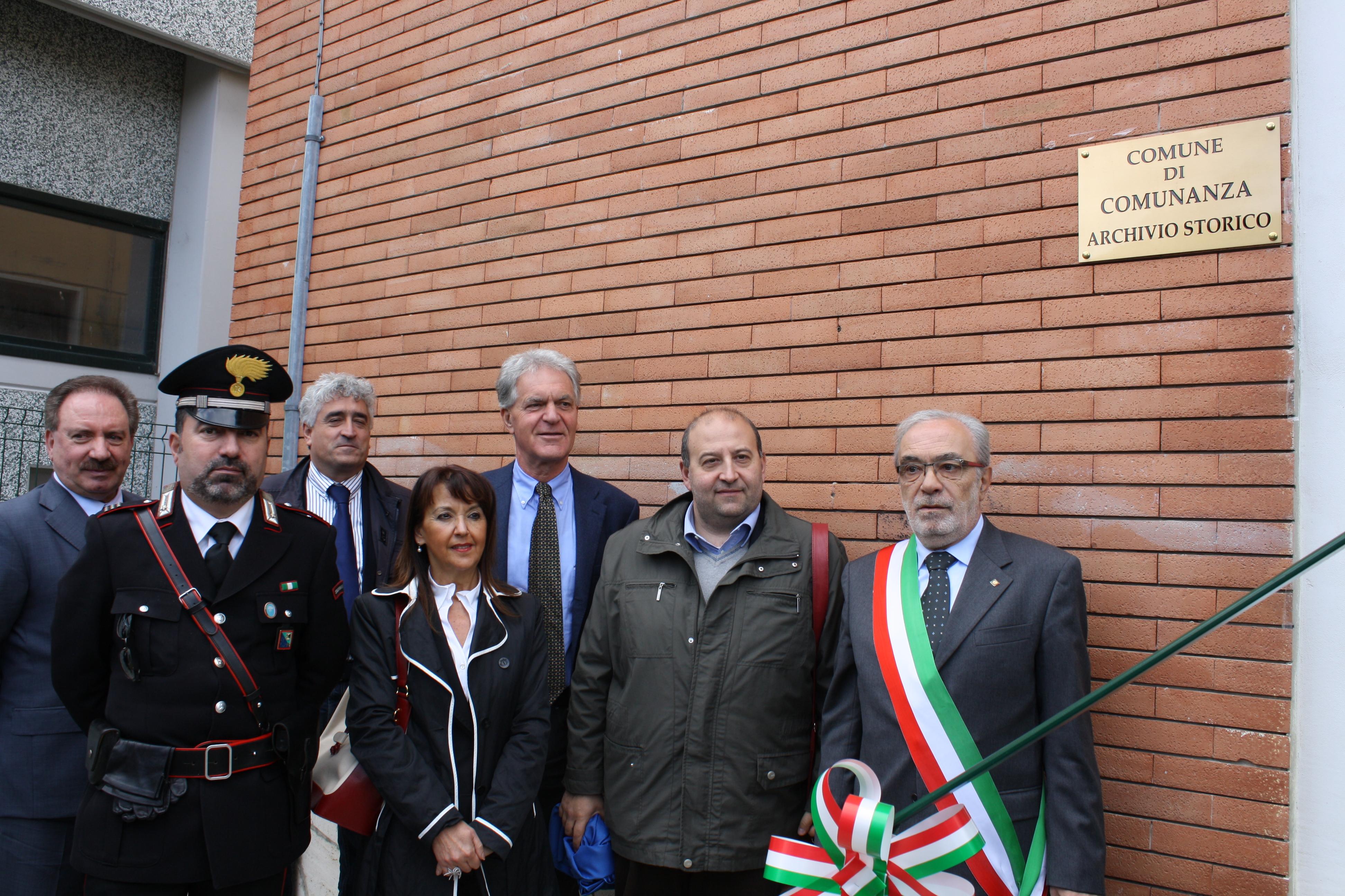 Inaugurazione Archivio Storico Comunanza