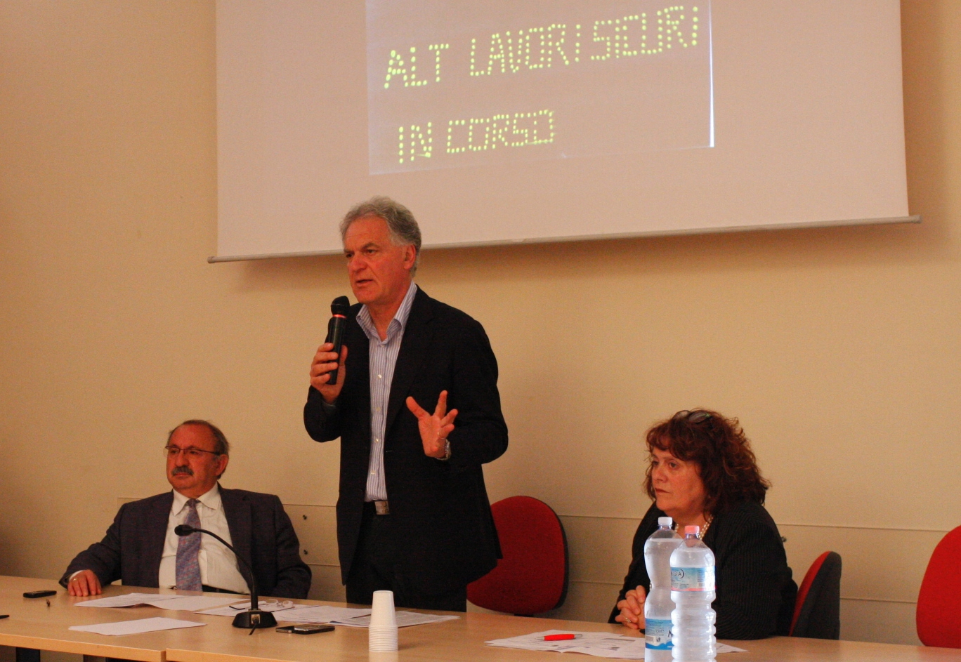 Pres. Celani - Ass. Petrucci - Menicozzi
