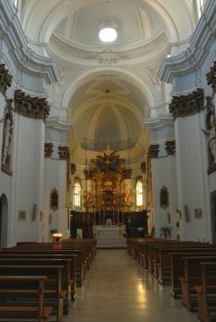Offida - Interno della Chiesa di Sant\'Agostino