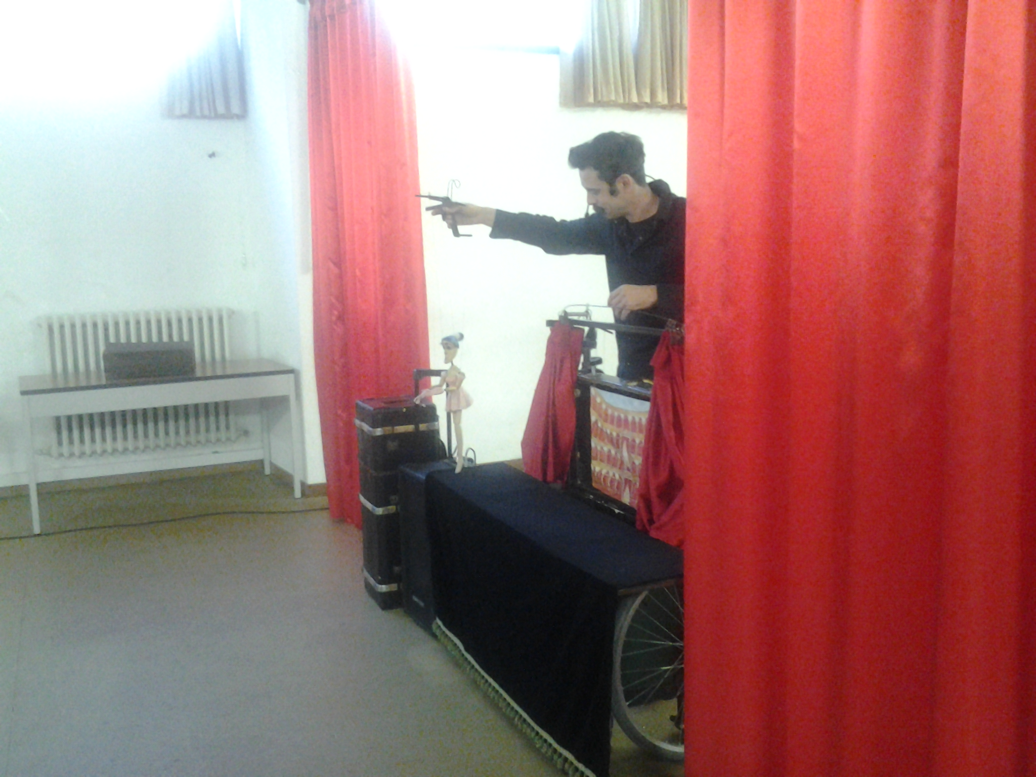Spettacolo Marionette Roccafluvione