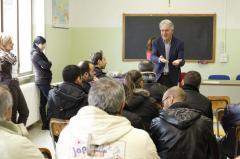 Cerimonia Consegna attestati Via Cagliari