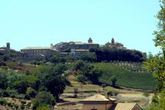 Panoramica Montefiore dell\'Aso