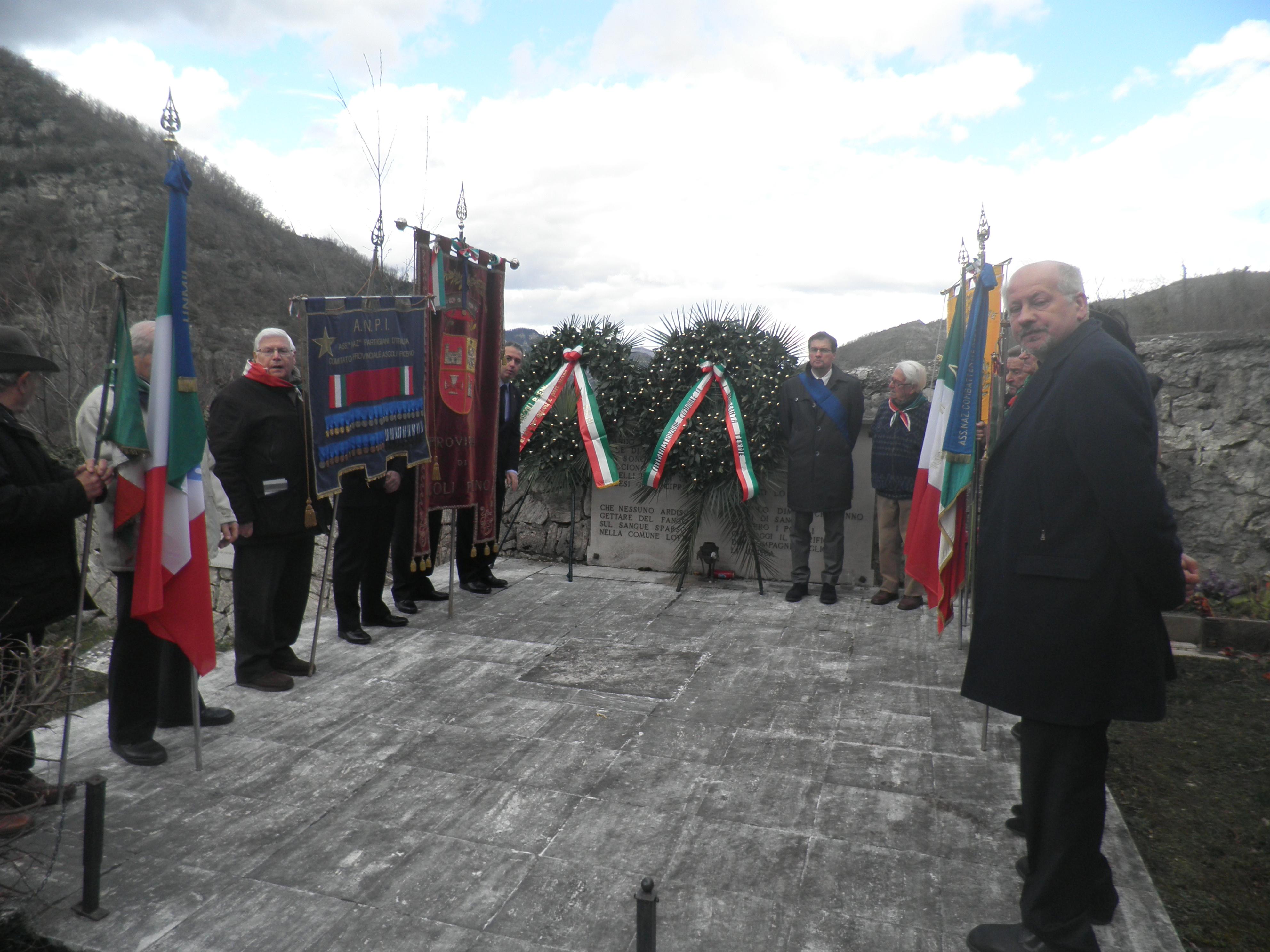 Commemorazione Eccidio Pozza di Acquasanta Terme
