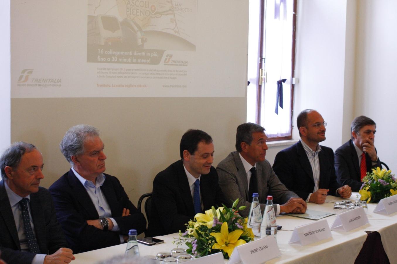 Pres. Elettrificazione ferrovia Ascoli - P.to D\'As