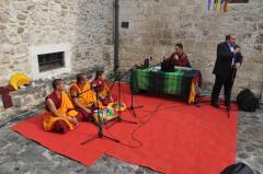 Esibizione Monaci Tibetani