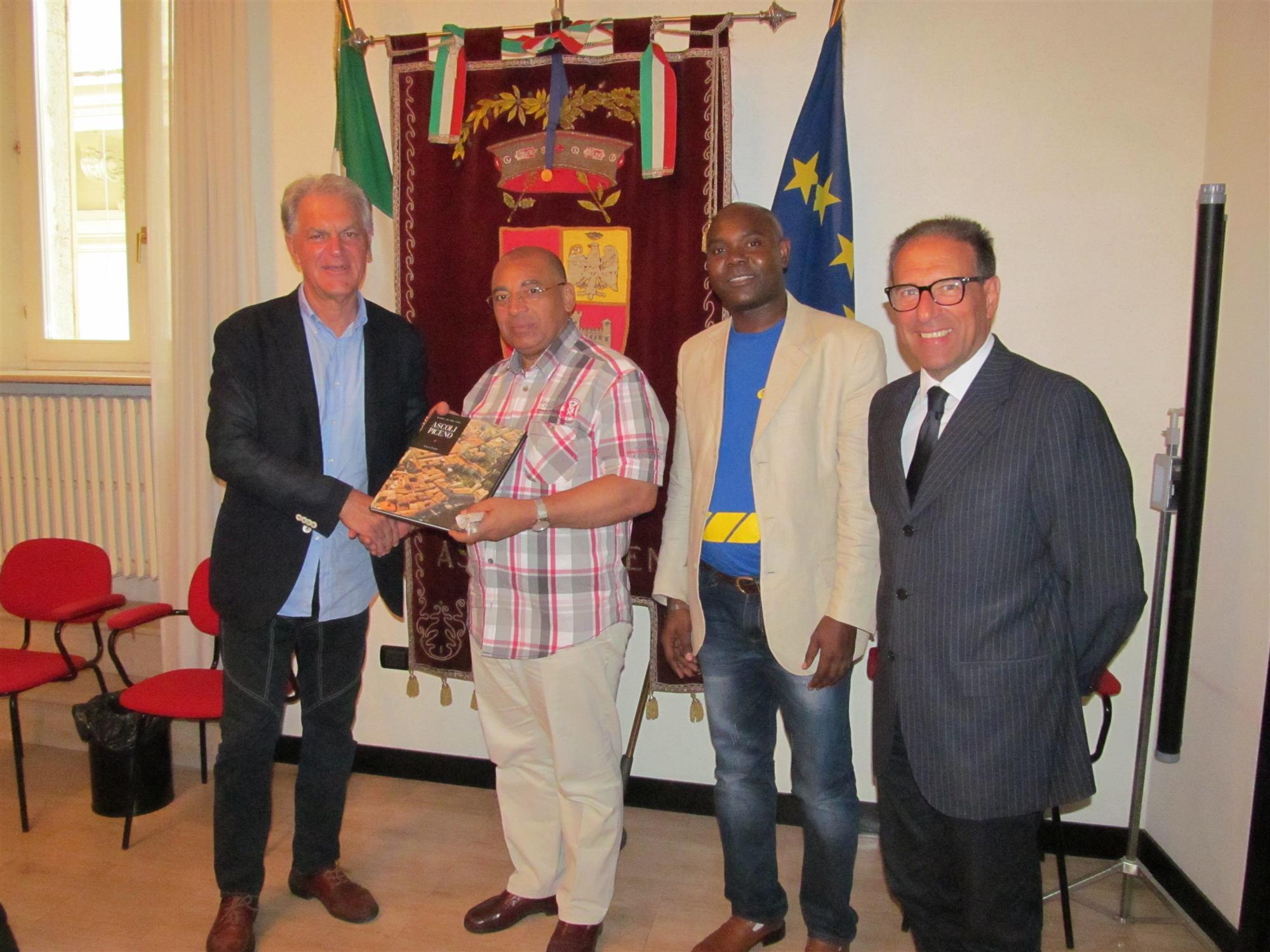 Visita Delegazione Congo