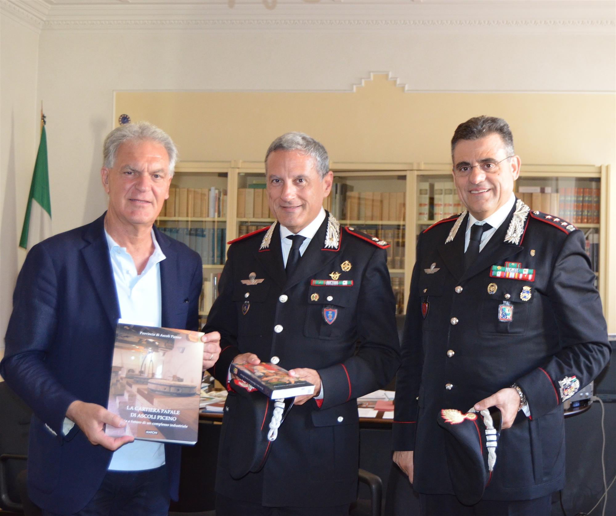 Visita Nuovo Comandante Carabinieri Marche