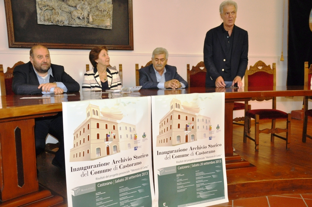 Inaugurazione Archivio Storico Castorano