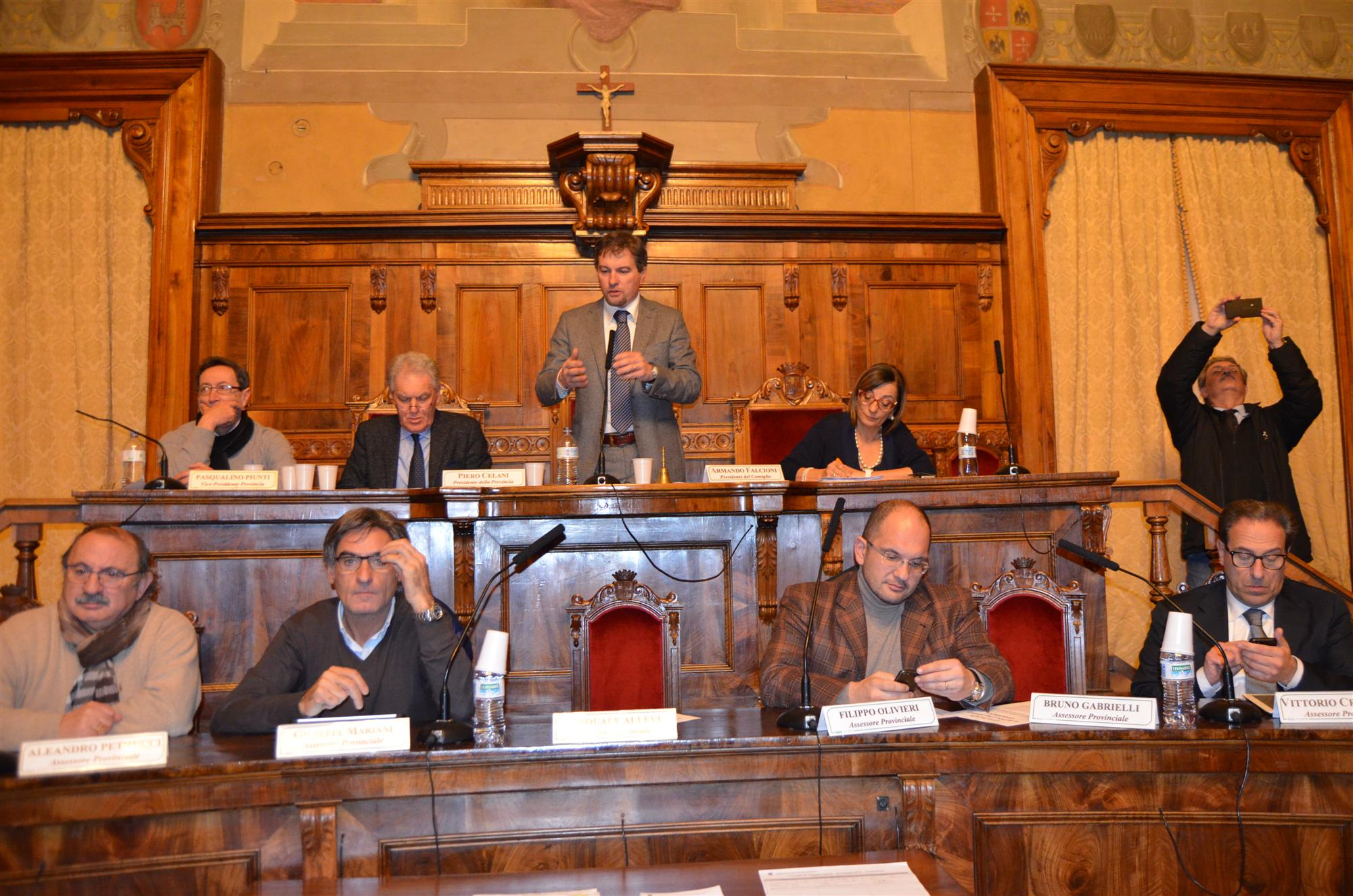 Consiglio Provinciale aperto Vertenza Coalac