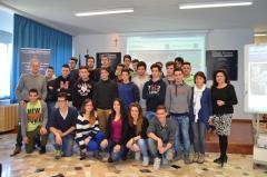 Visita Presidente Celani Istituto Tecnico Tecnolog
