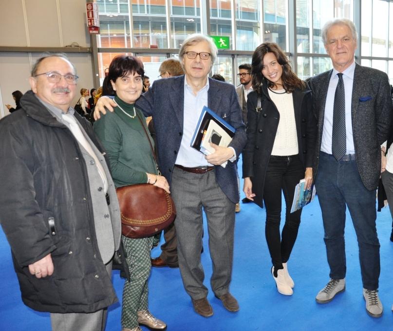 Visita Sgarbi alla delegazione picena dell Bit