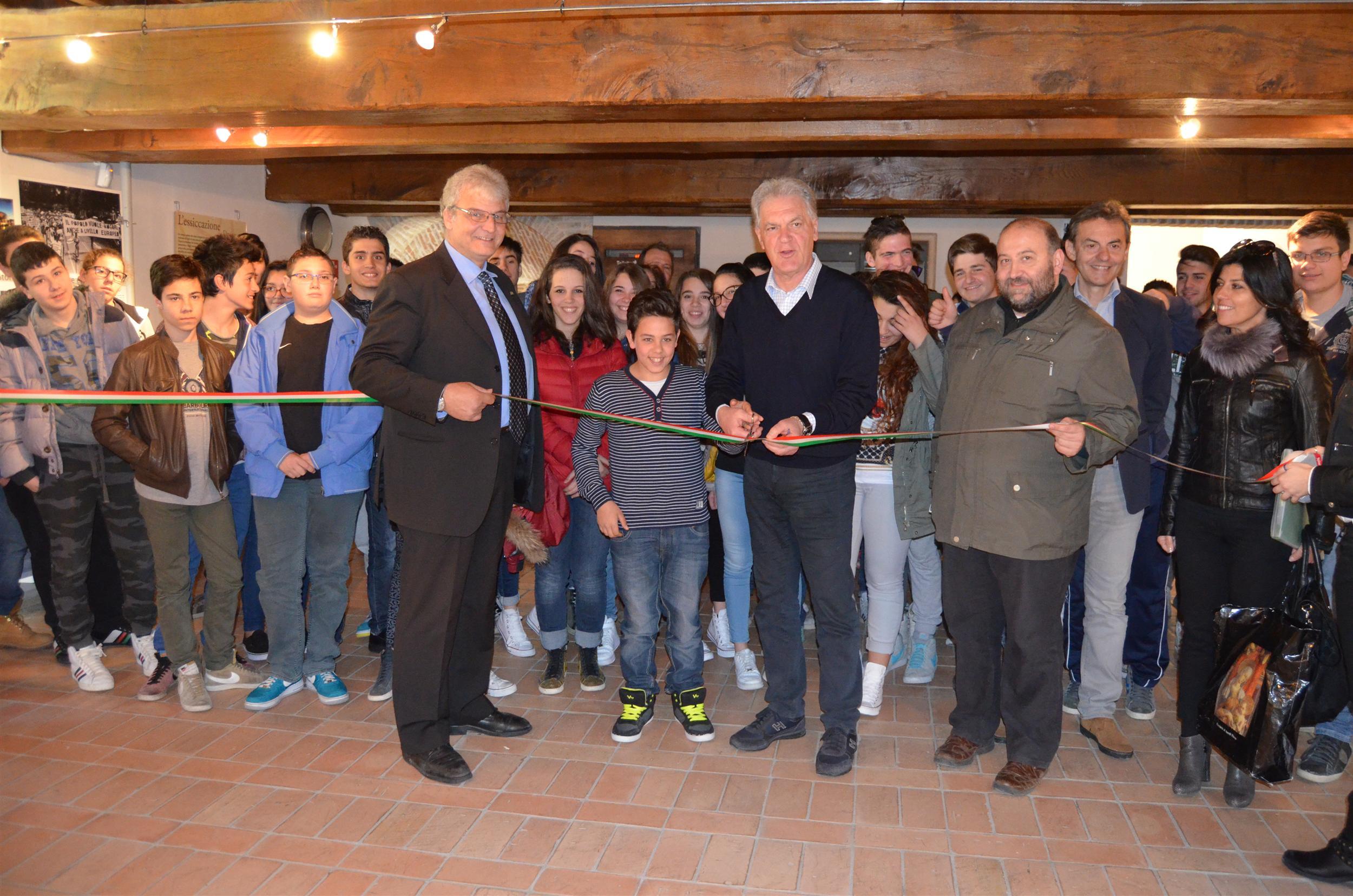 Inaugurazione Mostra Fotografia Europa Cartiera Pa