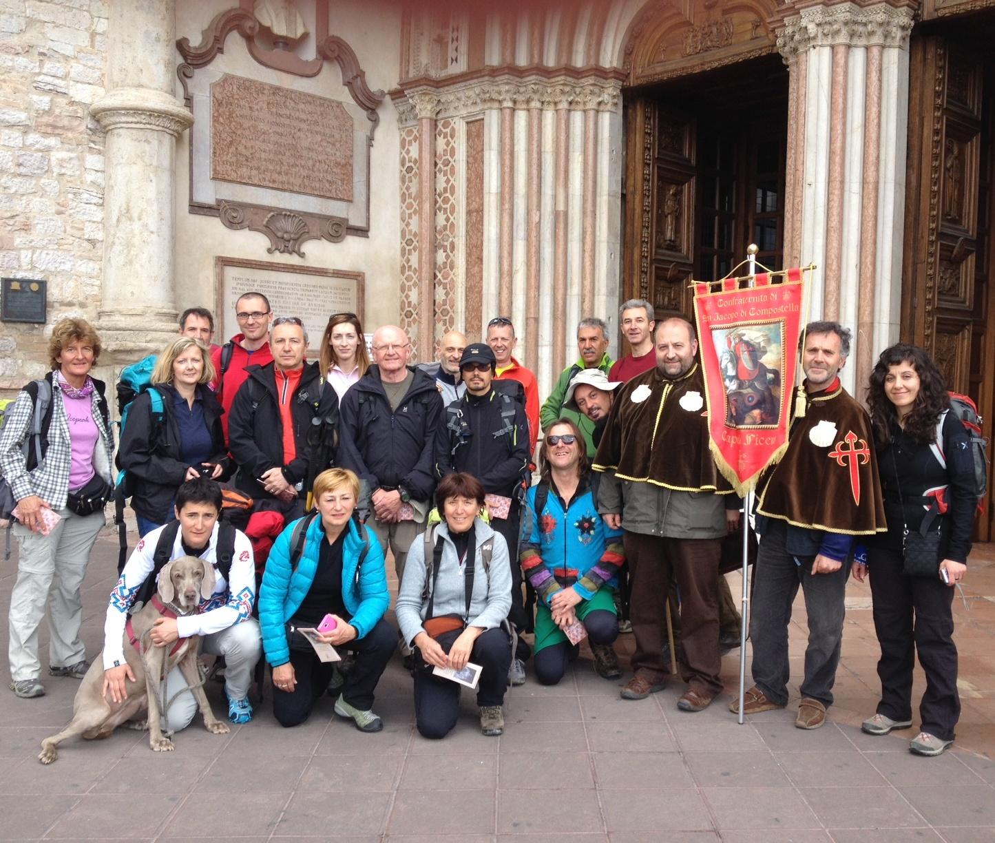 Partenza 4° edizione Cammino Francescano della Mar