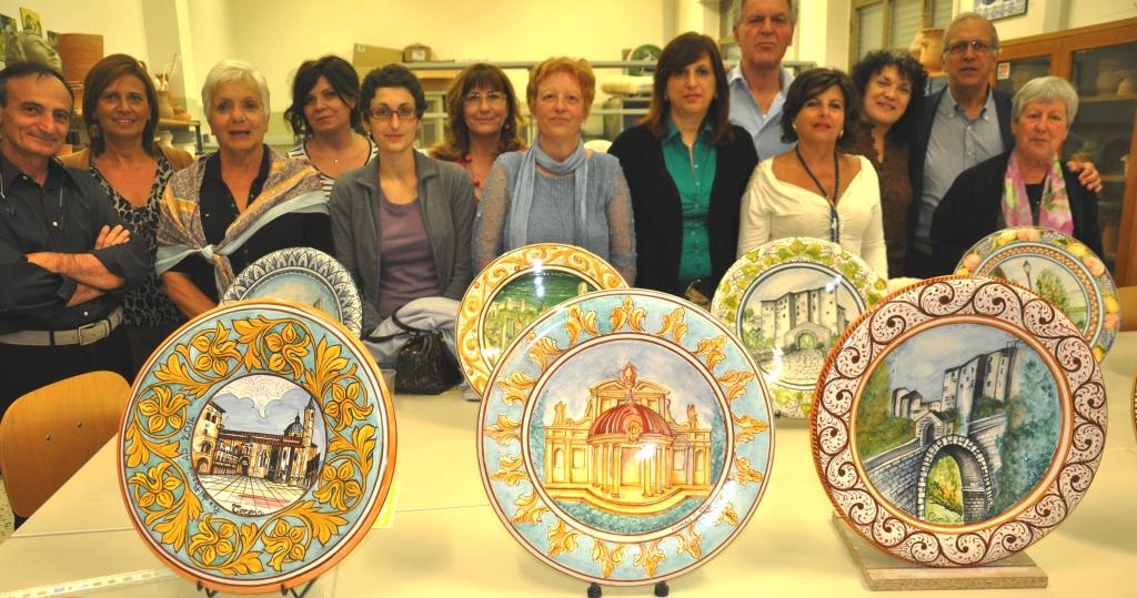 Consegna Attestati corso Ceramica