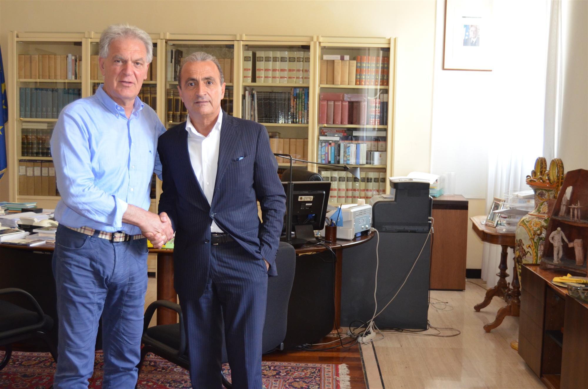 Pres. Celani e Pres. Cesetti