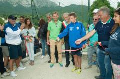 Inaugurazione Campi Sportivi Pretare