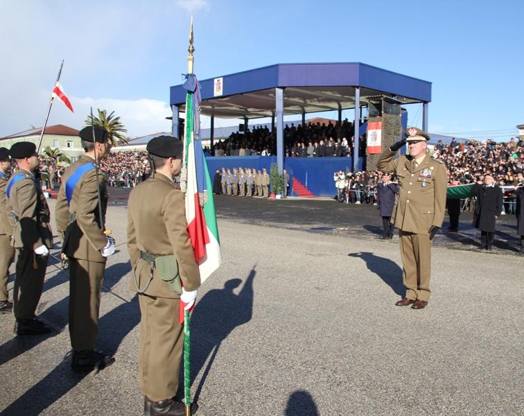 Giuramento 4° blocco 2014 Caserma Clementi