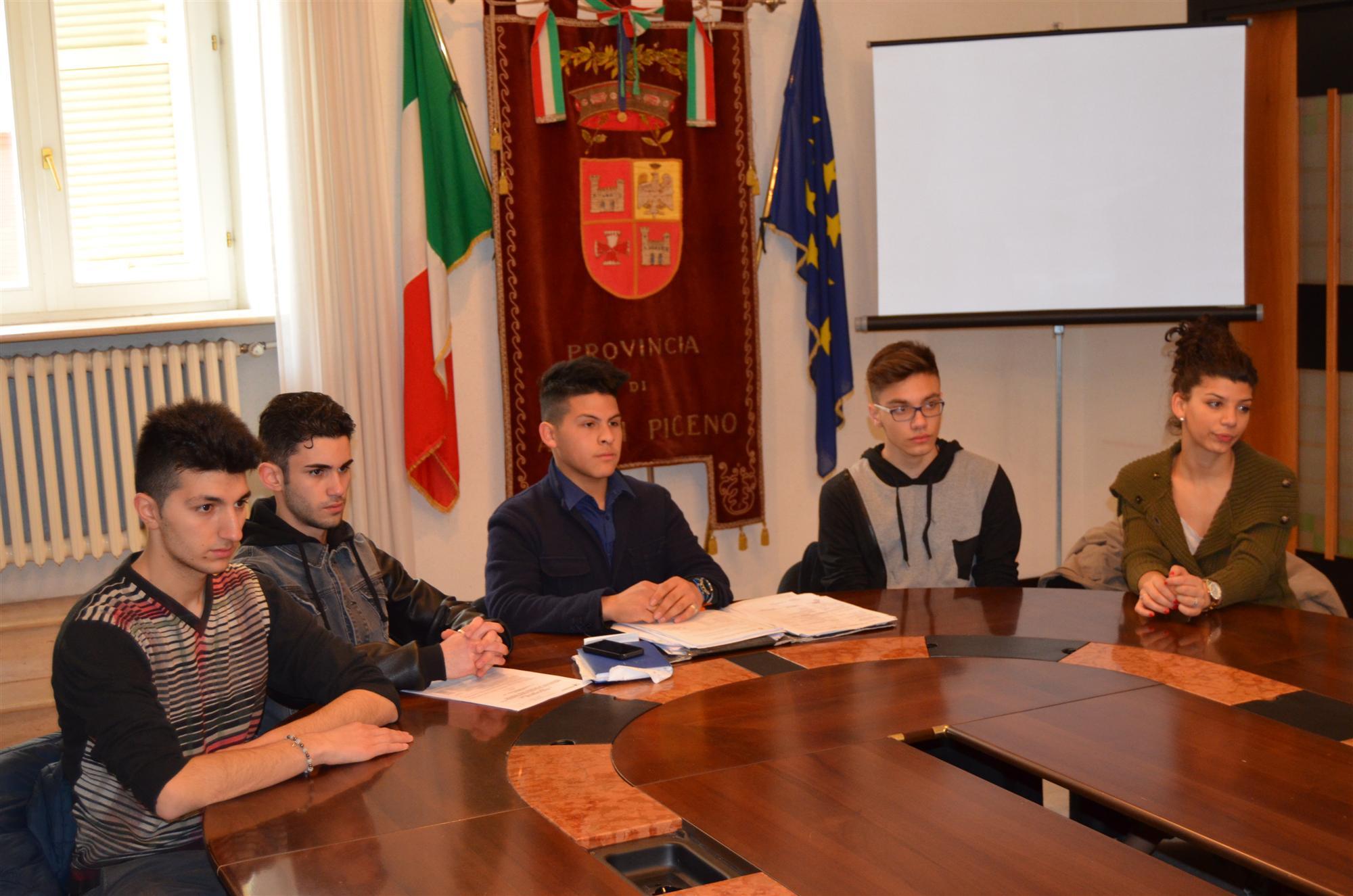 Incontro Delegazione Mazzocchi