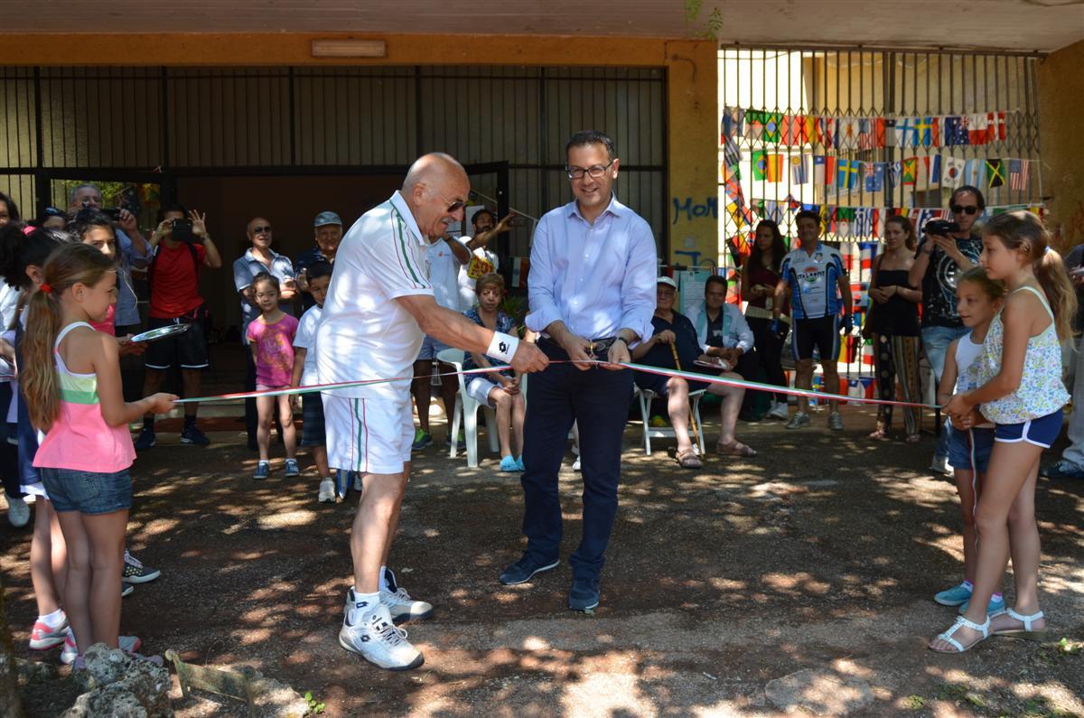 Inaugurazione Campi da Tennis Colle San Marco