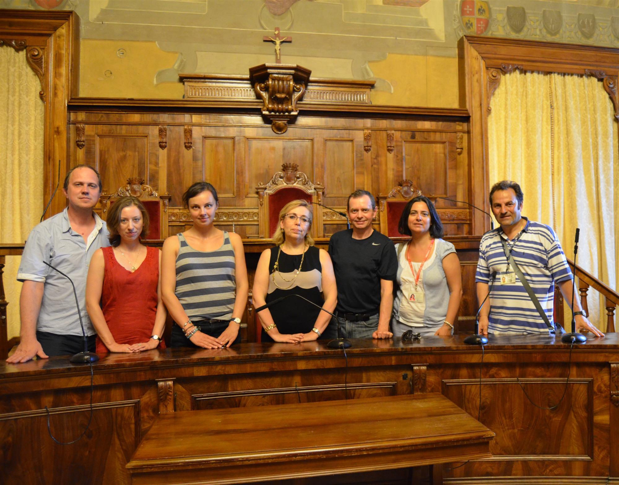 Delegazione straniera Vinea in Provincia