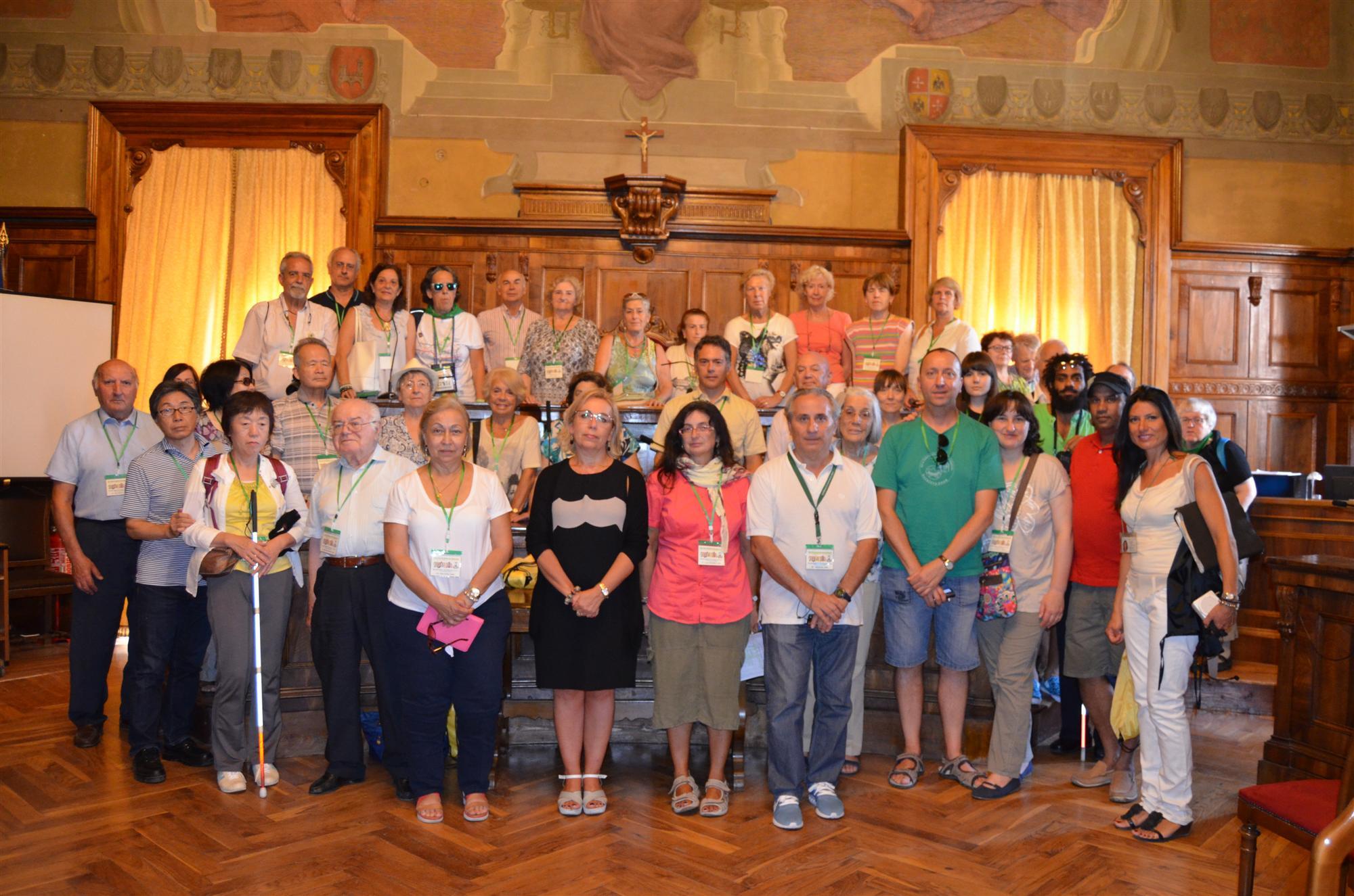 Visita Delegazione Esperantista