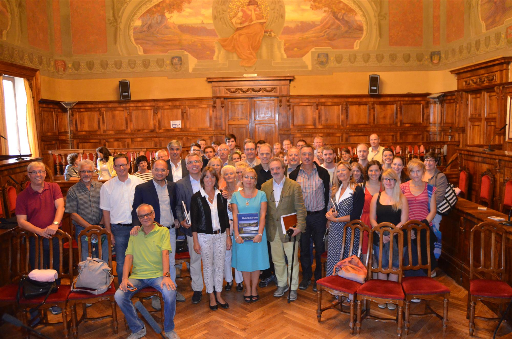 Visita Delegazione Orchestra Tedesca