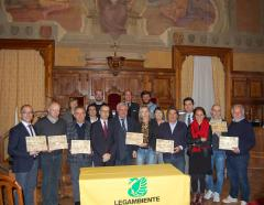 Premiazione Comuni Ricicloni 2015