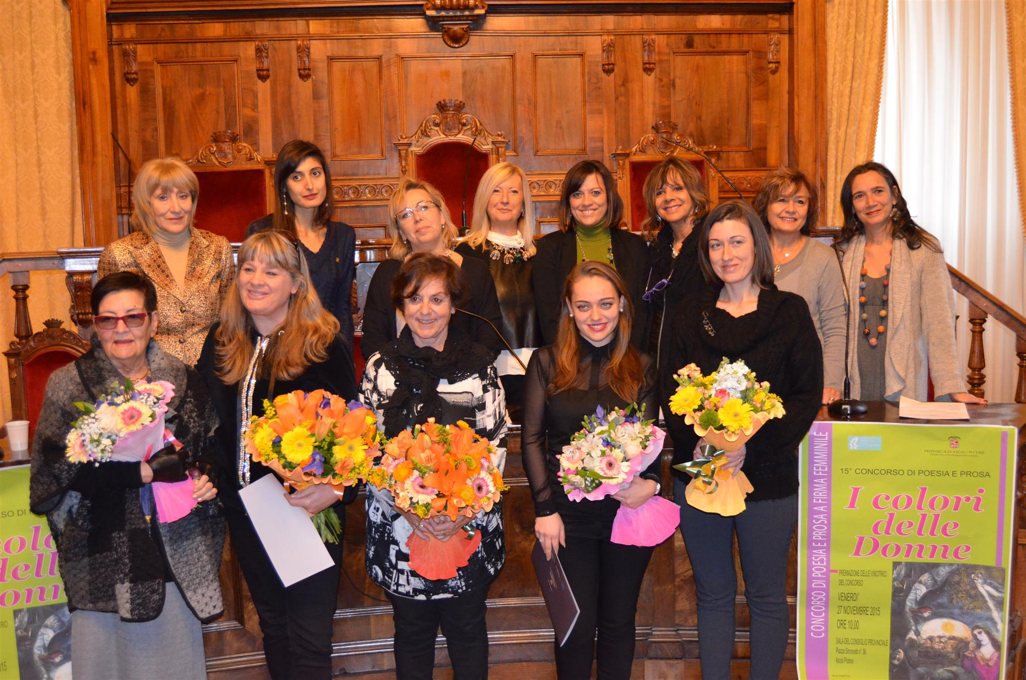 Cerimonia Colori delle Donne 2015