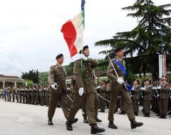 Cerimonia 1° blocco Reggimento Piceno