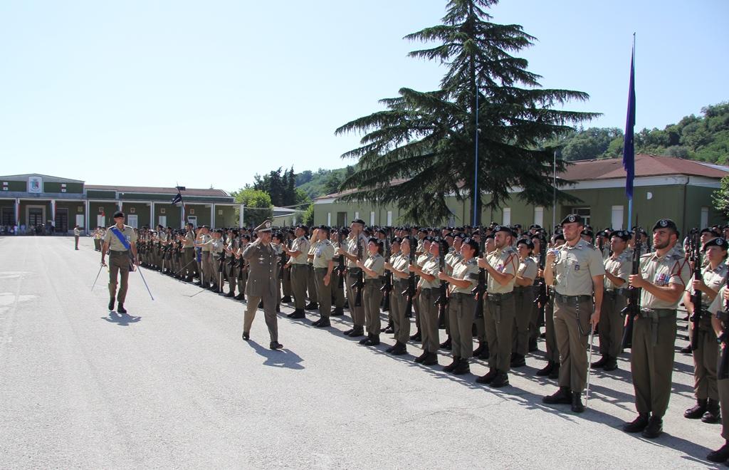 Cerimonia 2° blocco Reggimento Piceno