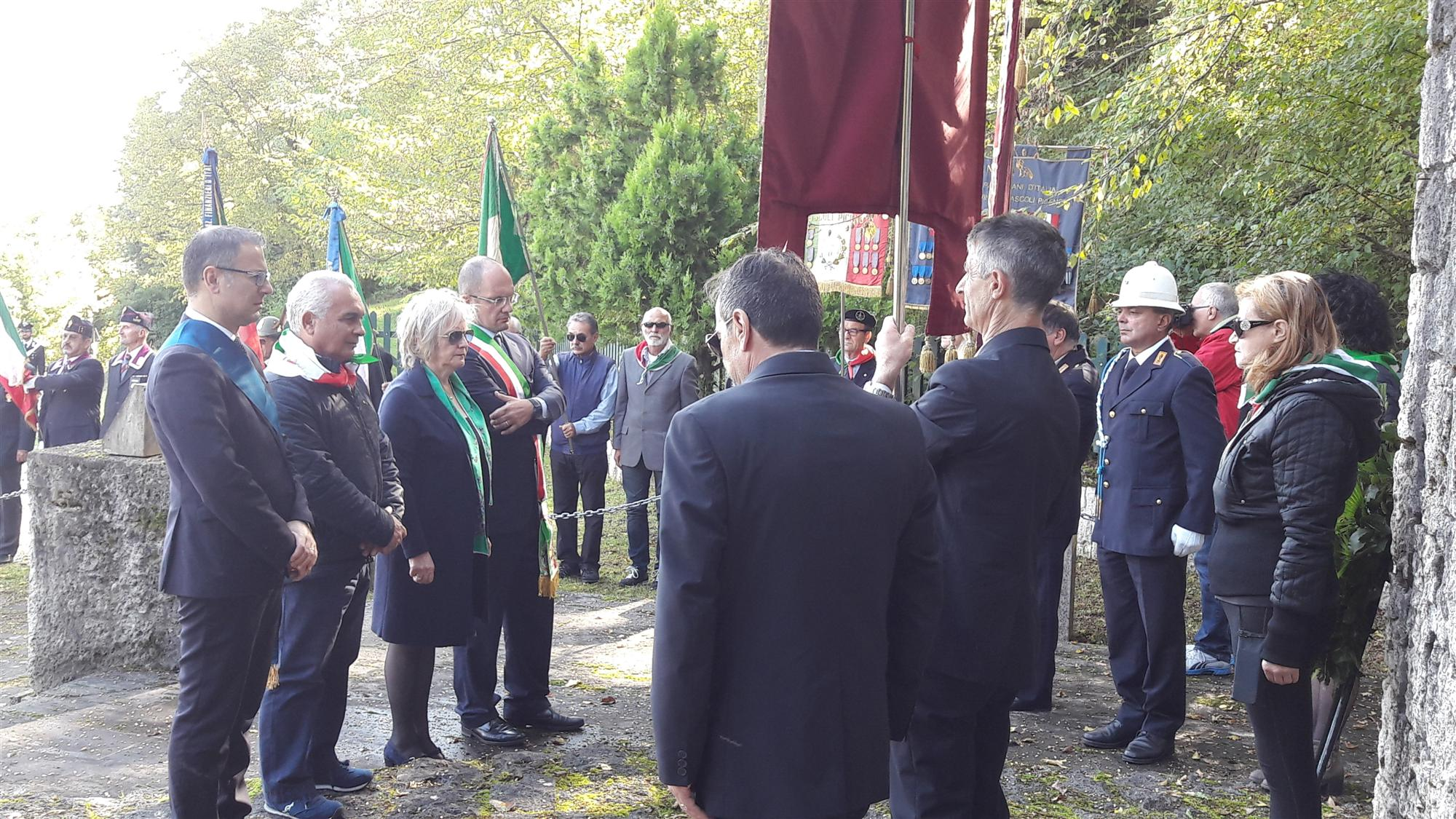 Cerimonia 3 ottobre Colle San Marco