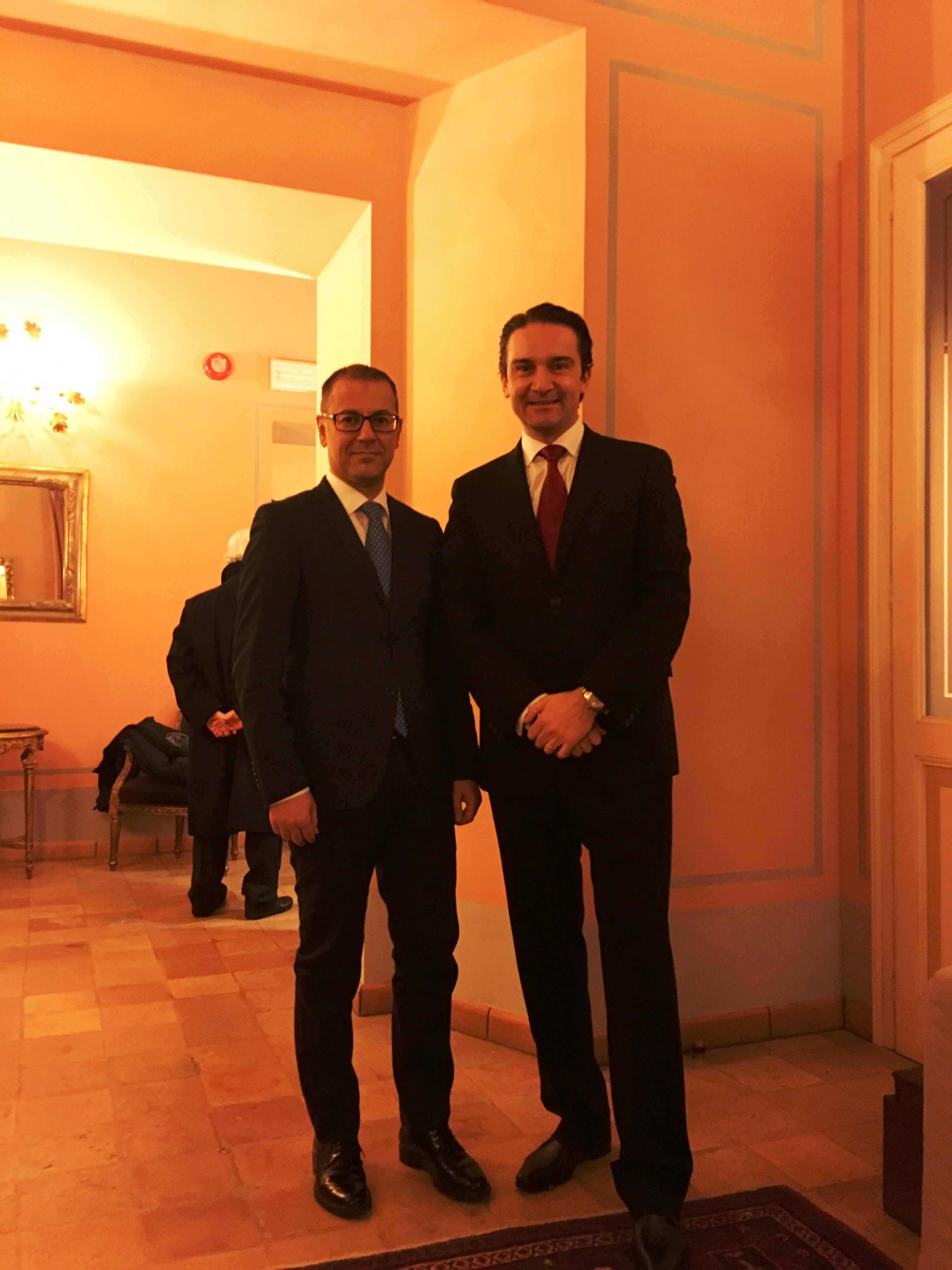 Paolo D\'Erasmo e Simone Mariani