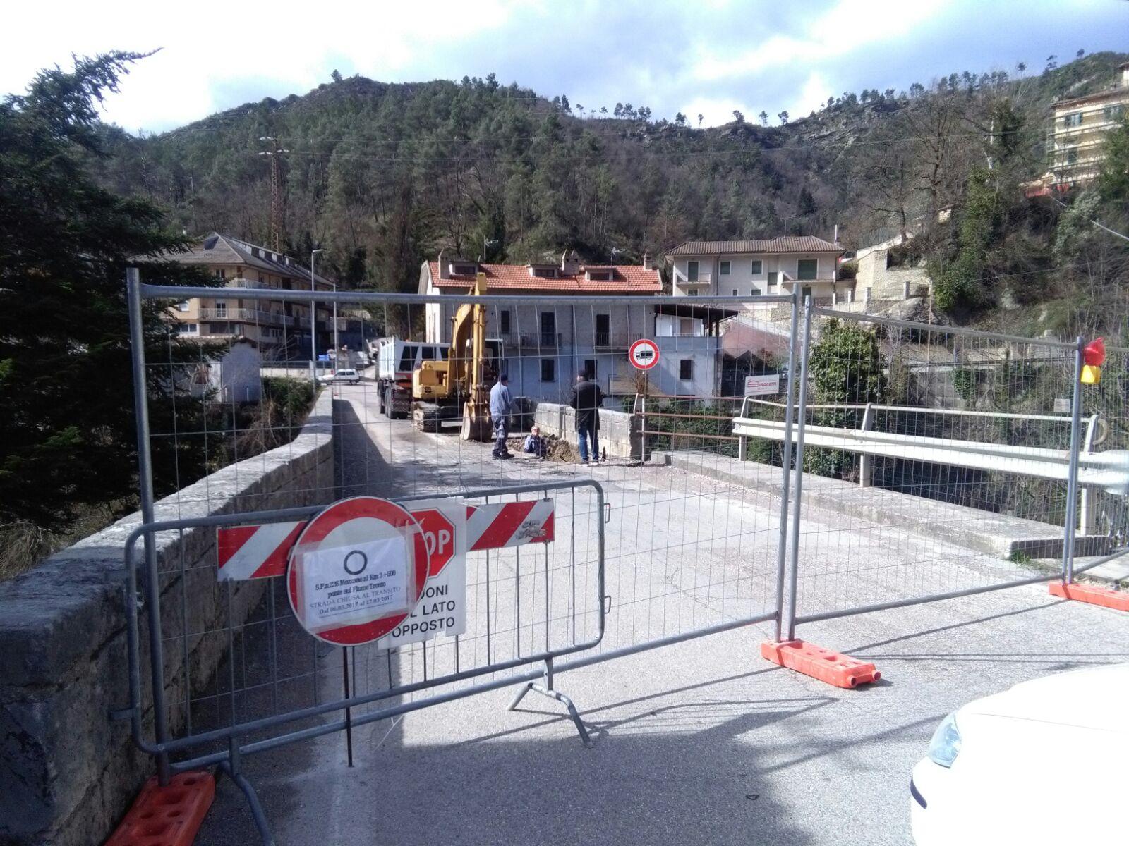 Lavori Ponte Mozzano