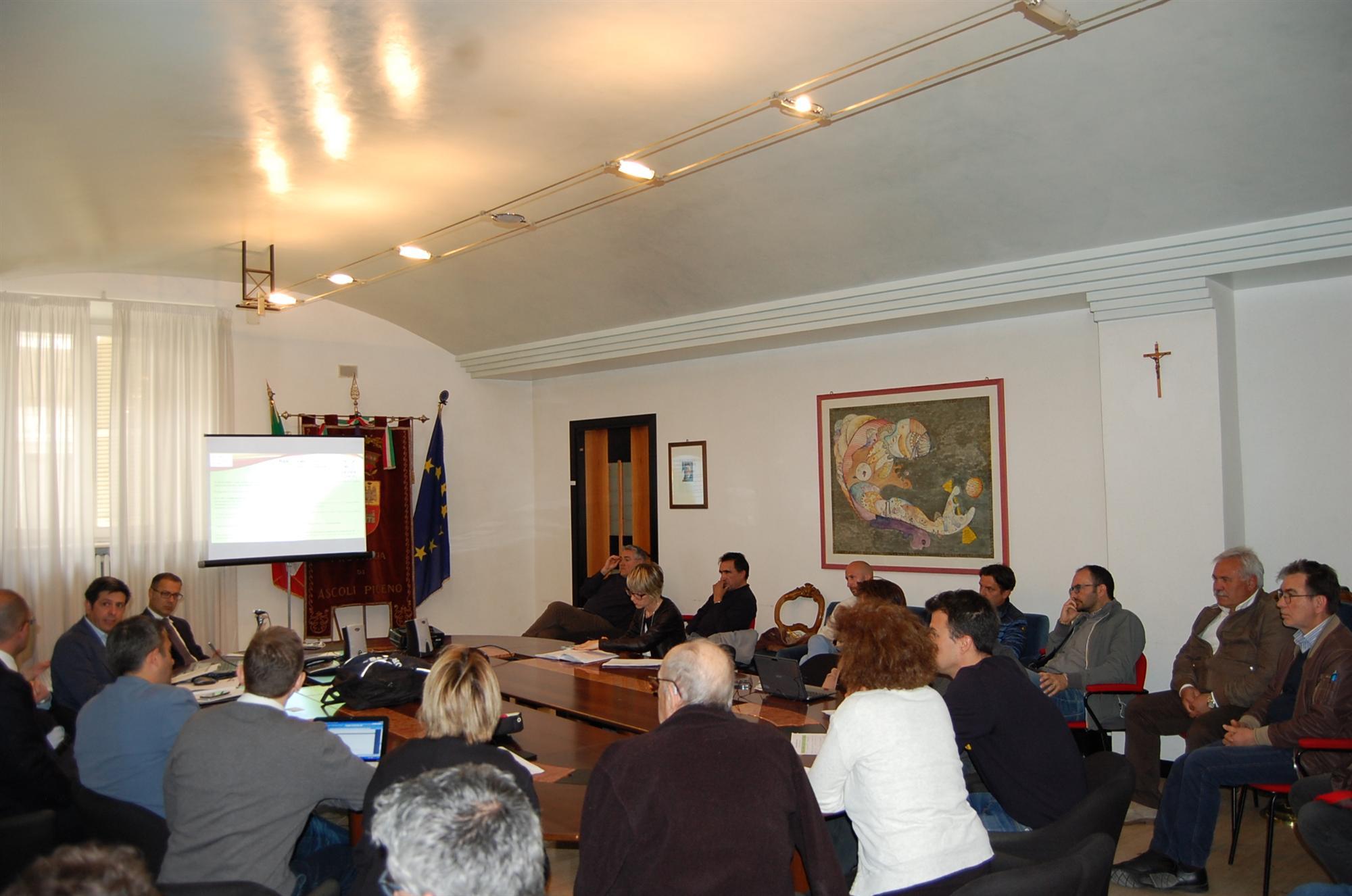Comitato ristretto Ata - Illustrazione Piano d\'Amb
