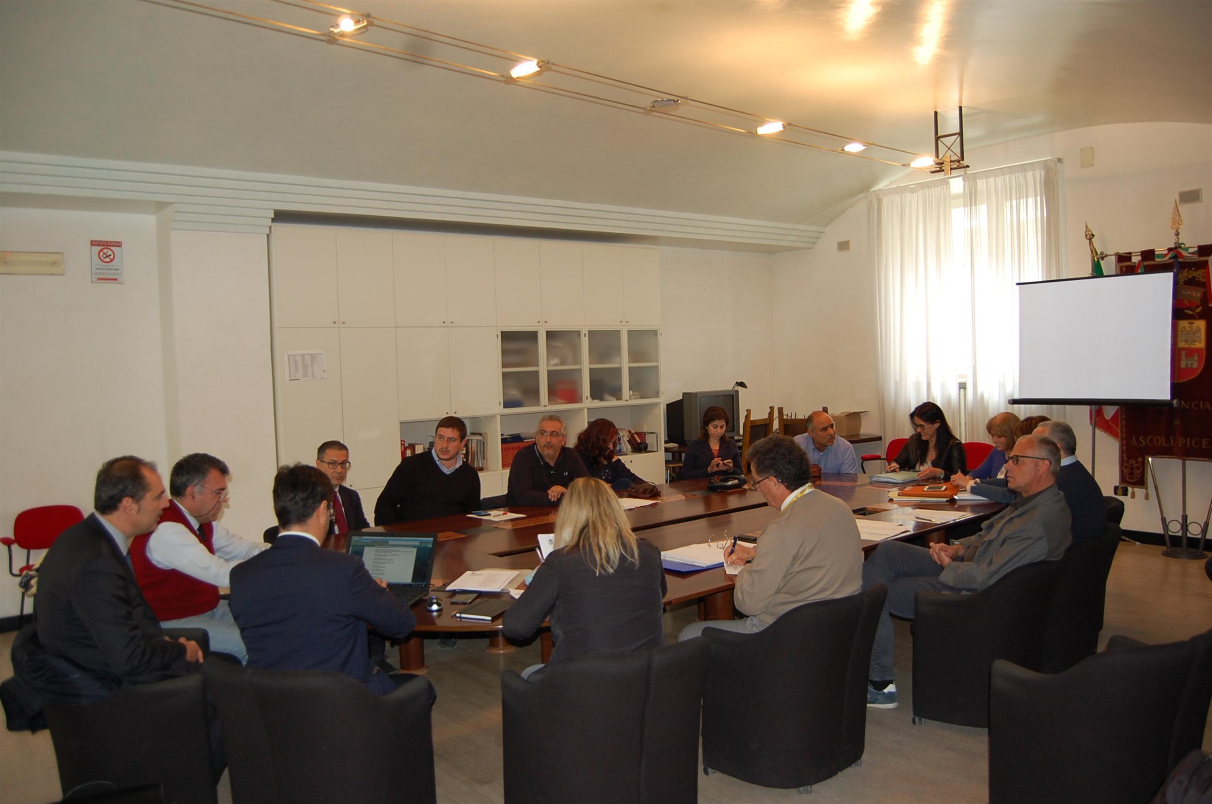 Conferenza dei Servizi Anas - Provincia