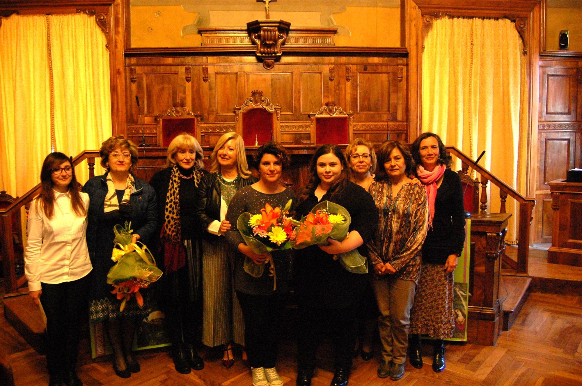 Premiazione I Colori delle Donne