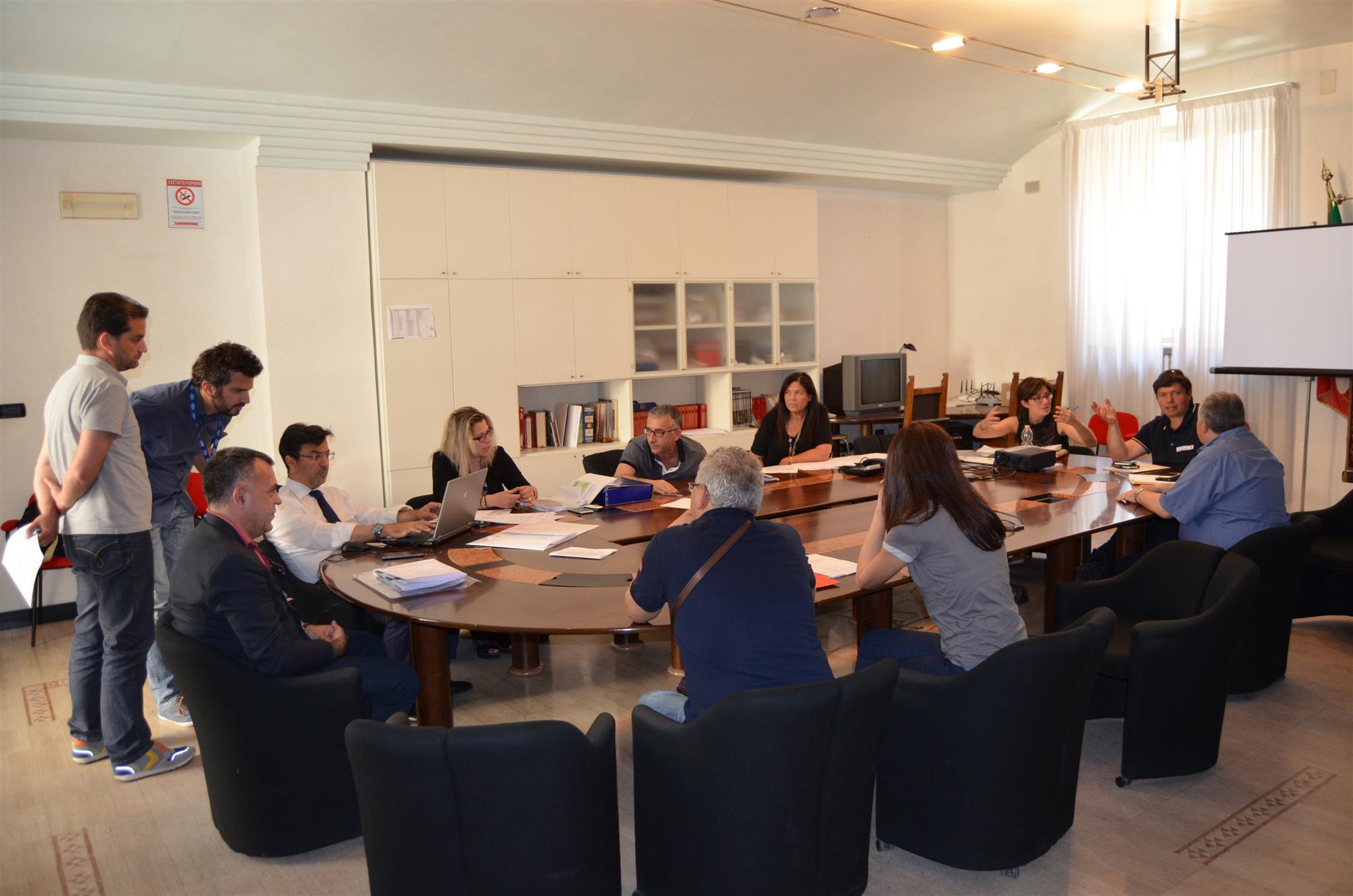 Conferenza Servizi Provincia - Anas S.P. 129 Trisu
