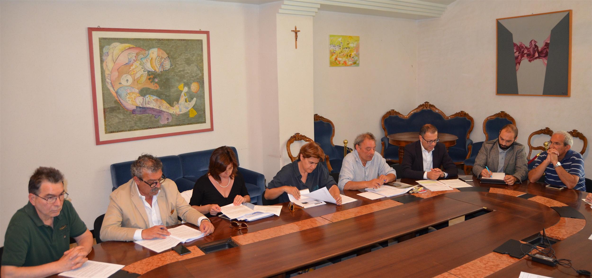 Conf. Stampa Provincia - Sindacati su protocollo a
