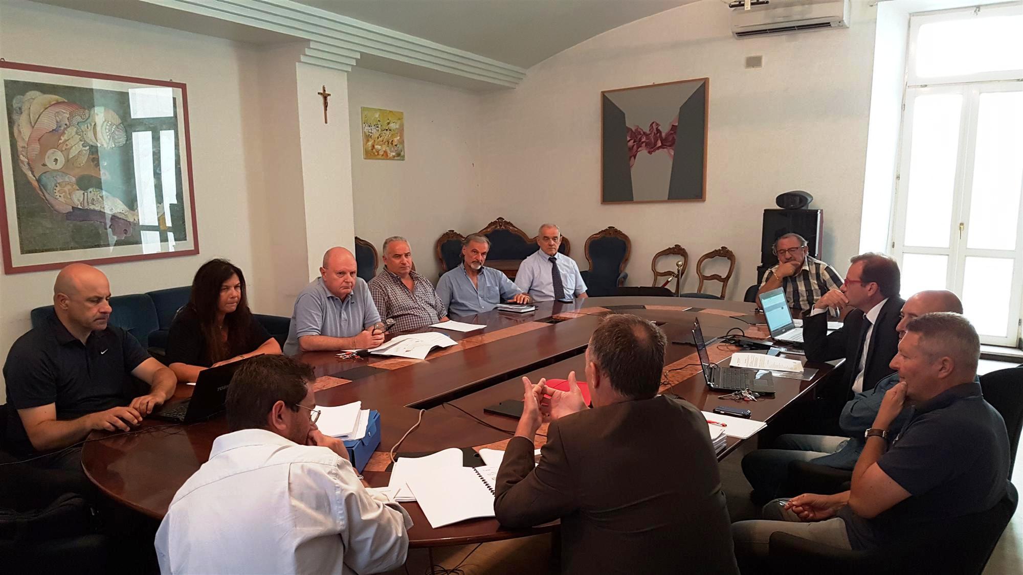 Conferenze di Servizi Anas - Provincia