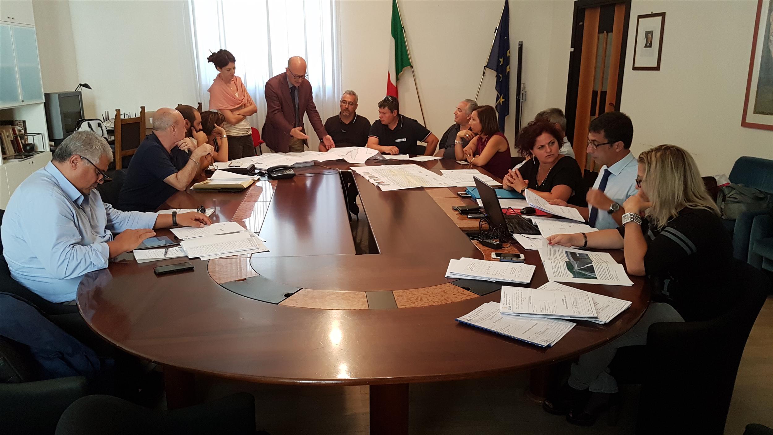 Conferenza di Servizi Anas - Provincia