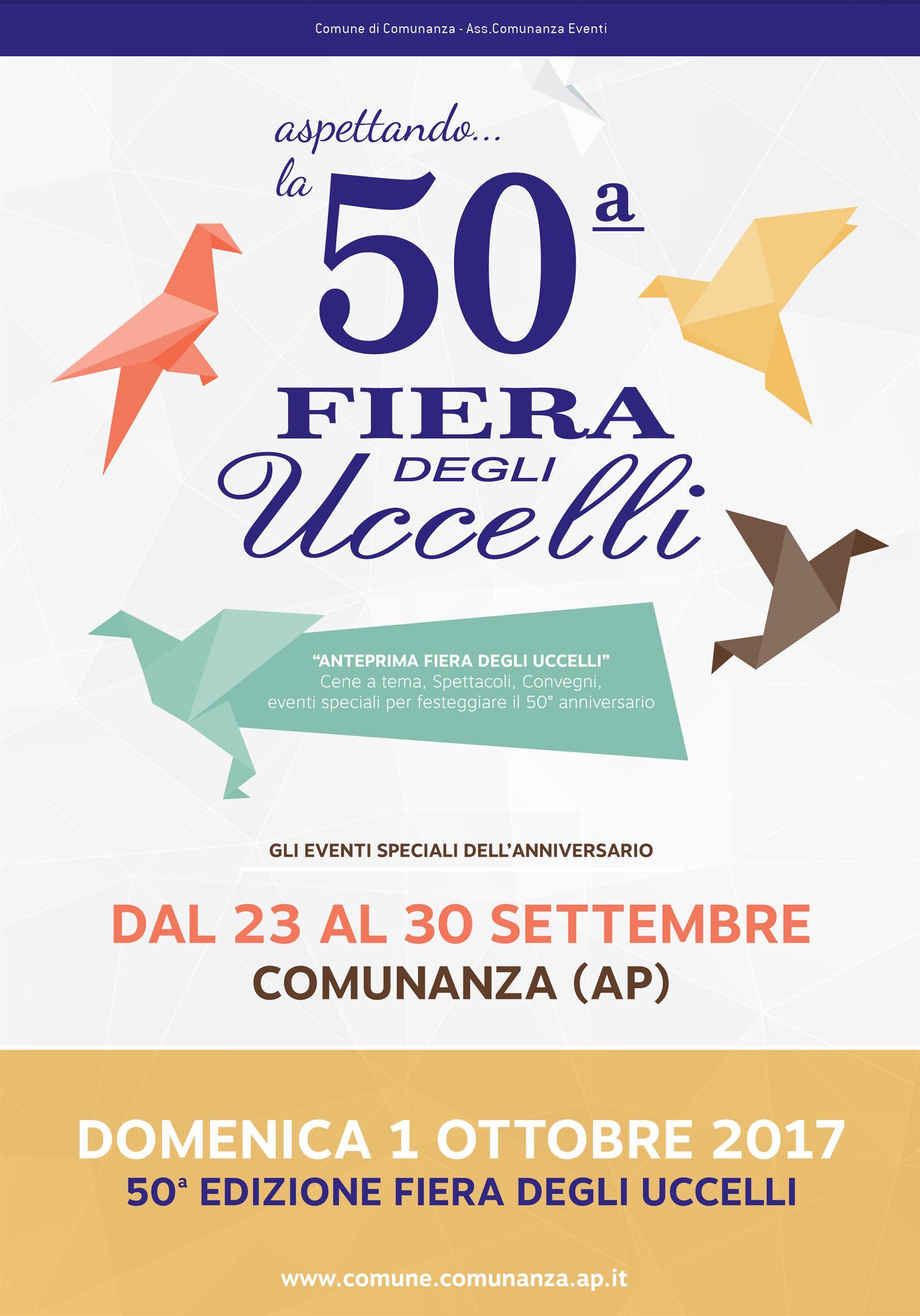 50° edizione Fiera degli Uccelli - Comunanza