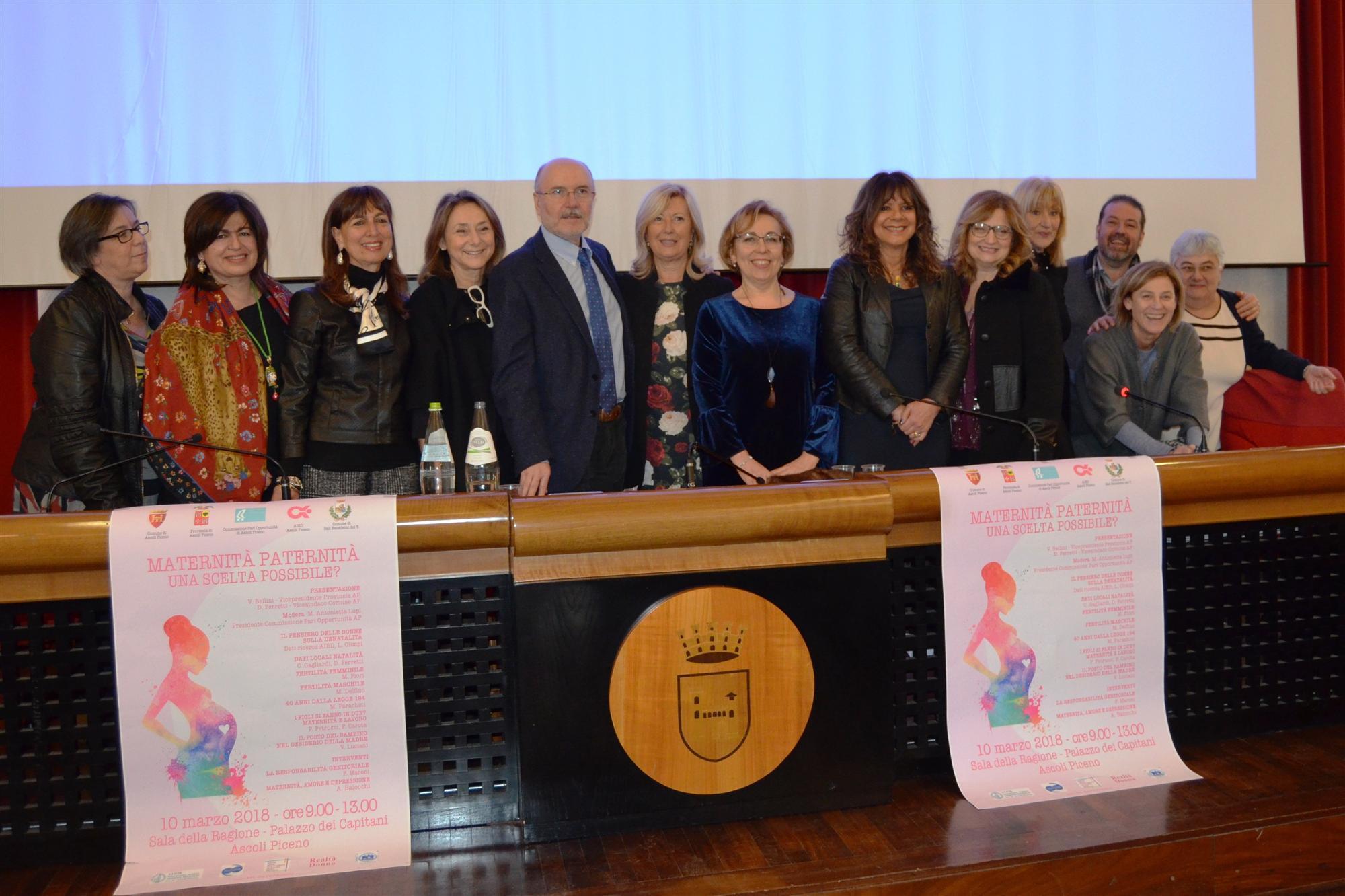 Convegno Maternità Paternita - Palazzo dei Capitan