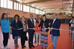 Inaugurazione Restling Palestra Liceo Scientifico