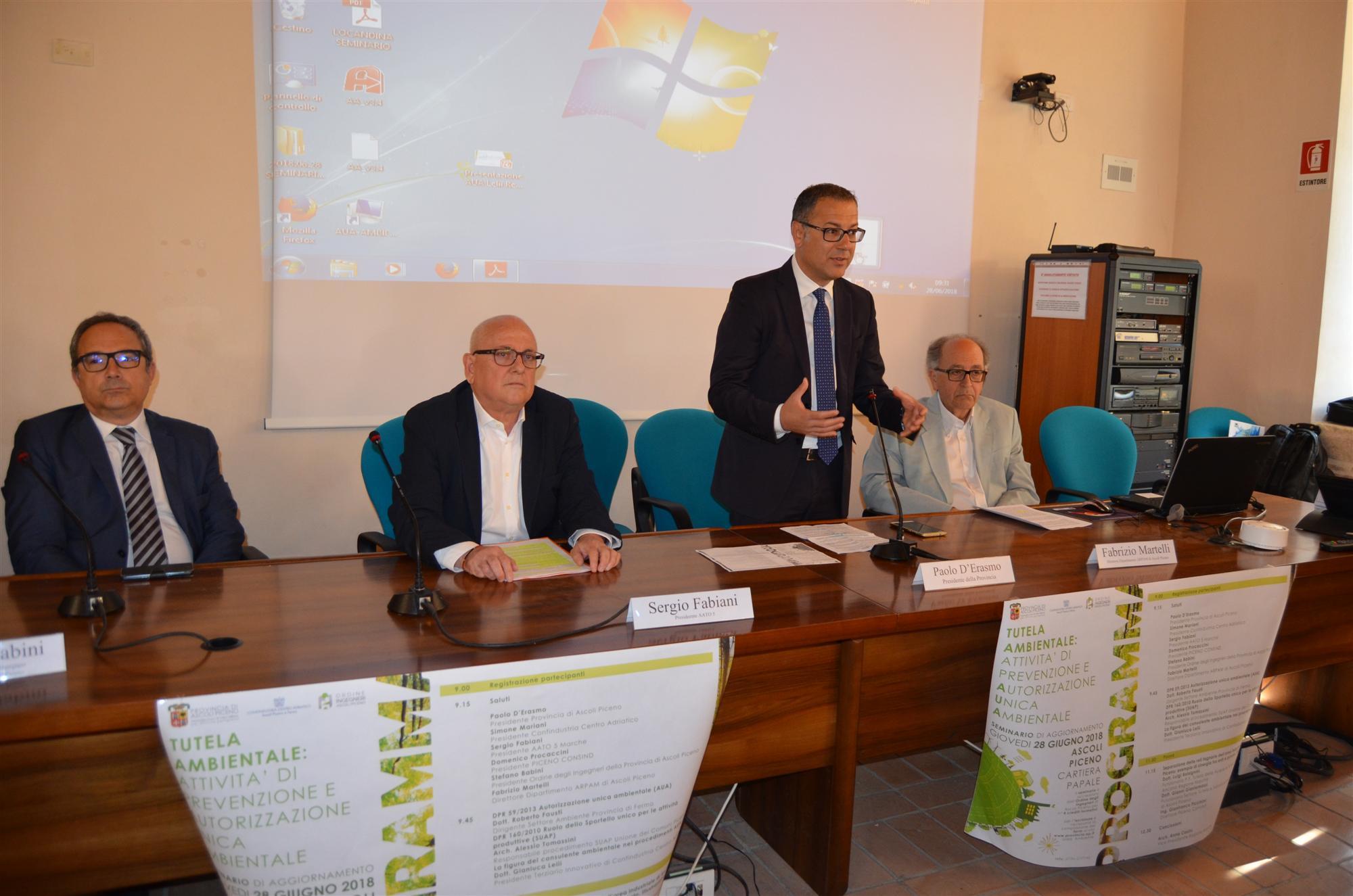 Successo Seminario Autorizzazione Unica Ambientale