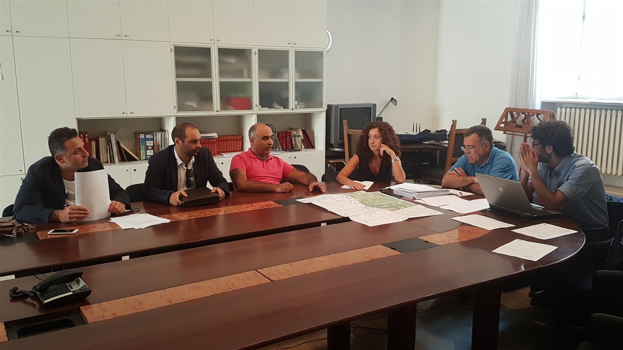 Conferenza Anas - Provincia 25 luglio 2018